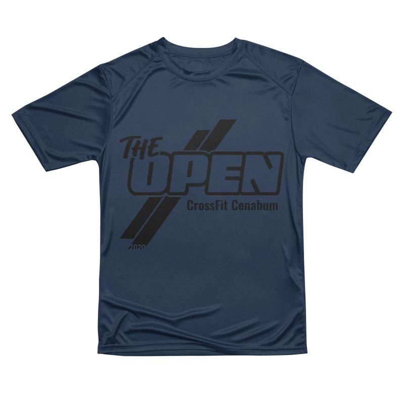 The Open 2020 Men's Performance T-Shirt by Le Shop CrossFit Cenabum
