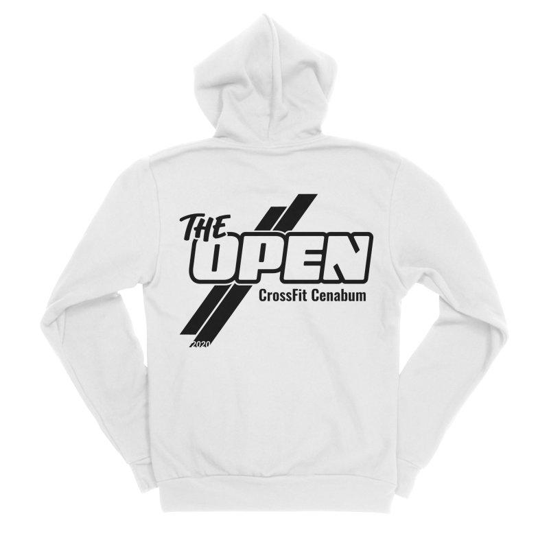 The Open 2020 Men's Sponge Fleece Zip-Up Hoody by Le Shop CrossFit Cenabum