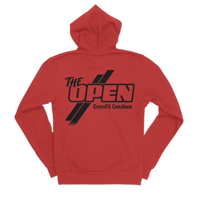 The Open 2020 Women's Zip-Up Hoody by Le Shop CrossFit Cenabum