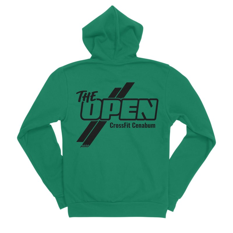 The Open 2020 Women's Sponge Fleece Zip-Up Hoody by Le Shop CrossFit Cenabum