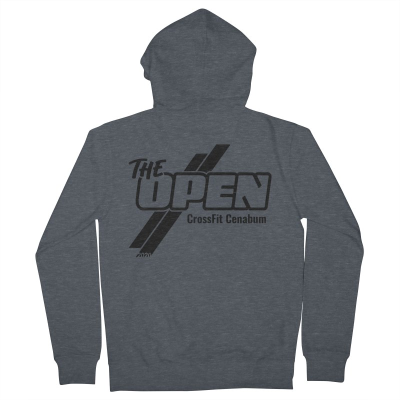 The Open 2020 Women's French Terry Zip-Up Hoody by Le Shop CrossFit Cenabum