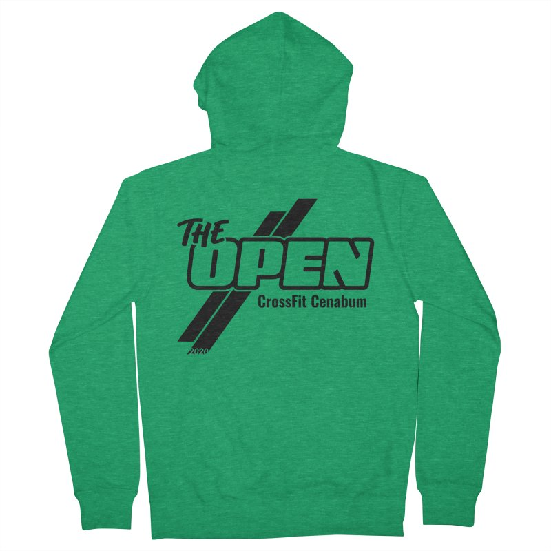 The Open 2020 Men's Zip-Up Hoody by Le Shop CrossFit Cenabum