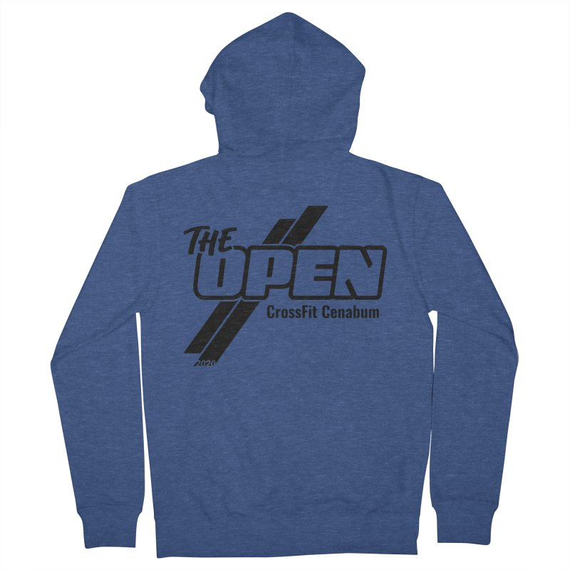 The Open 2020 Men's French Terry Zip-Up Hoody by Le Shop CrossFit Cenabum