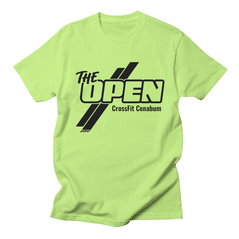 The Open 2020 Men's Regular T-Shirt by Le Shop CrossFit Cenabum
