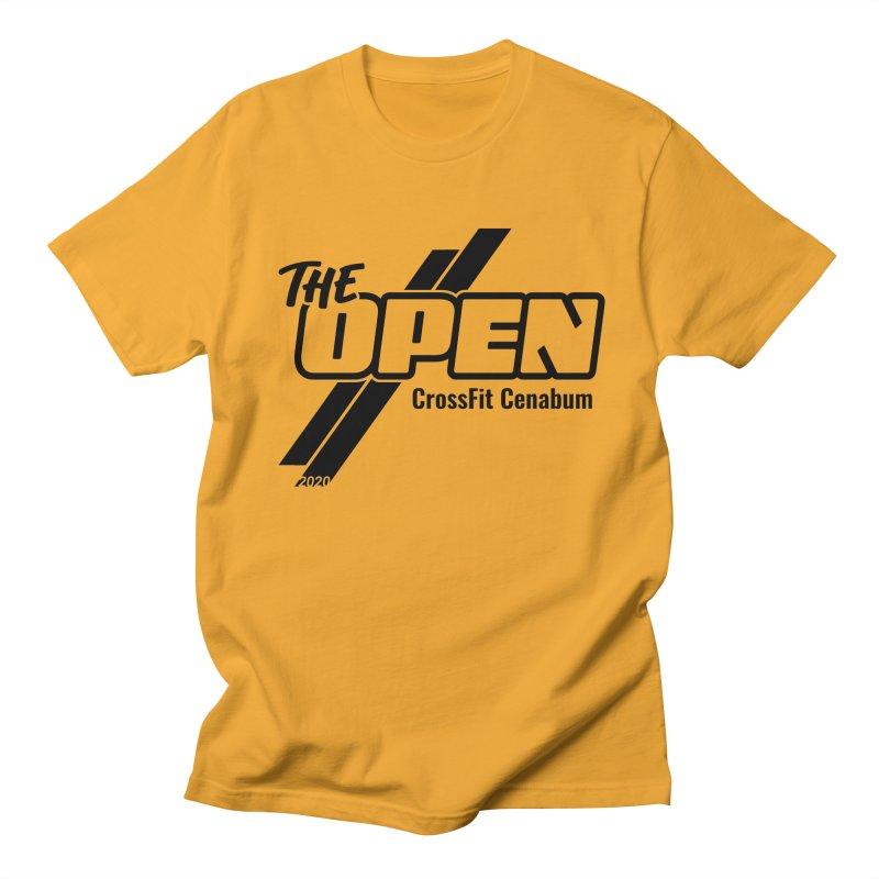 The Open 2020 Men's Regular T-Shirt by Le Shop CrossFit Cenabum