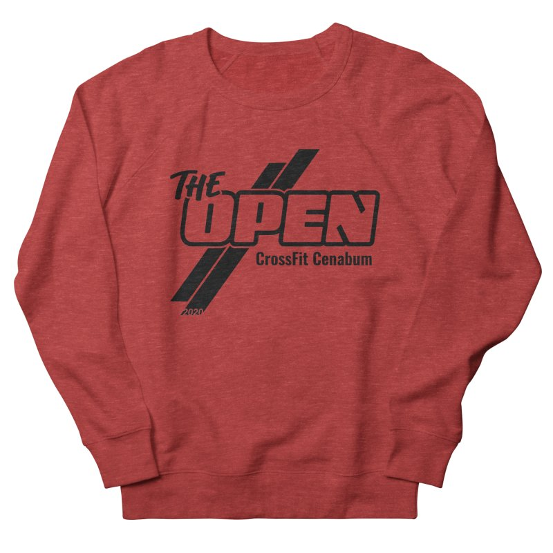 The Open 2020 Women's French Terry Sweatshirt by Le Shop CrossFit Cenabum