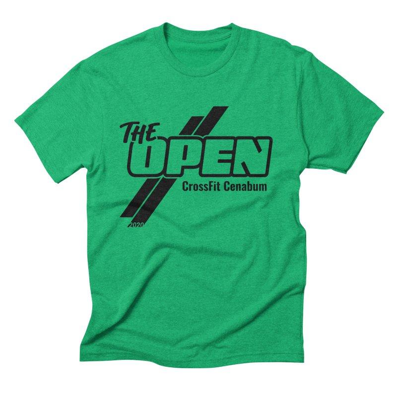 The Open 2020 Men's T-Shirt by Le Shop CrossFit Cenabum