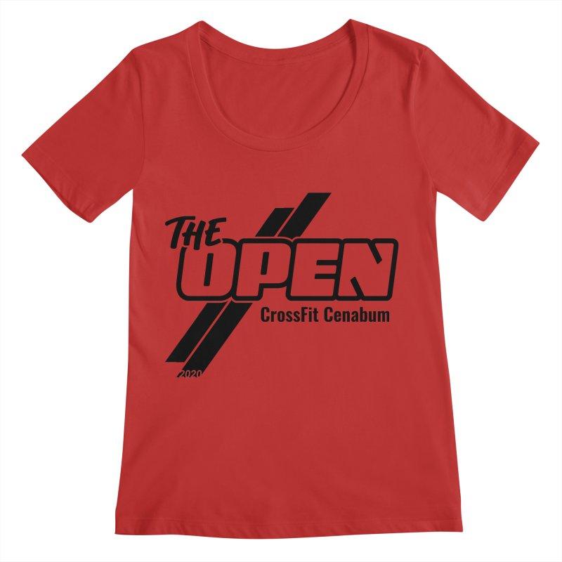 The Open 2020 Women's Regular Scoop Neck by Le Shop CrossFit Cenabum
