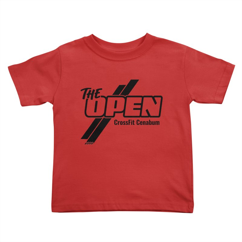 The Open 2020 Kids Toddler T-Shirt by Le Shop CrossFit Cenabum