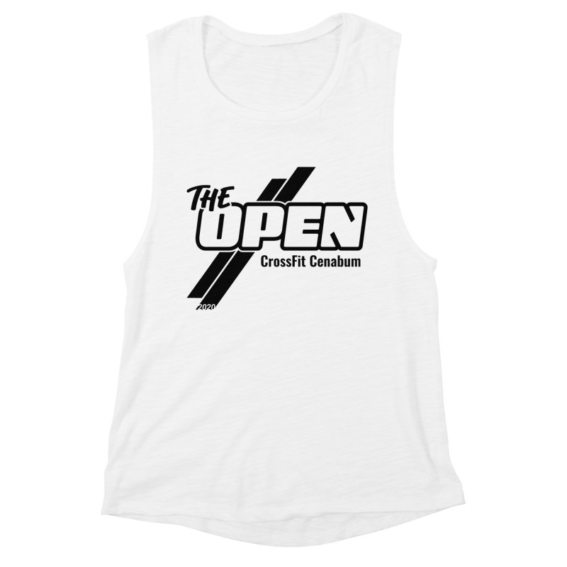 The Open 2020 Women's Muscle Tank by Le Shop CrossFit Cenabum