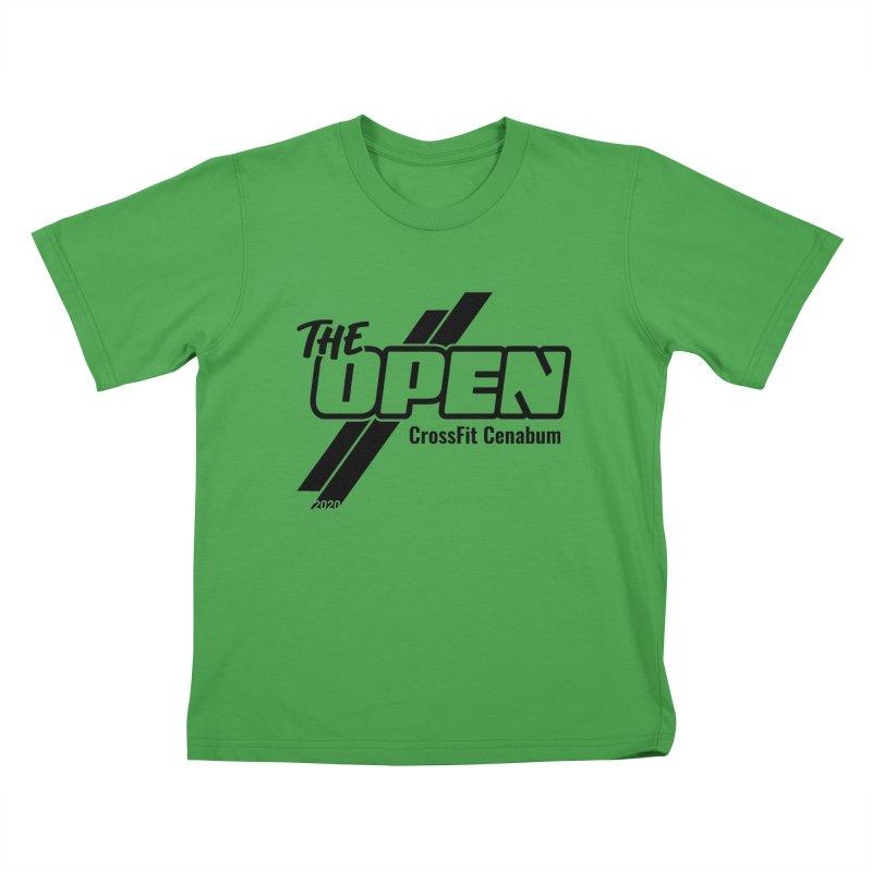 The Open 2020 Kids T-Shirt by Le Shop CrossFit Cenabum