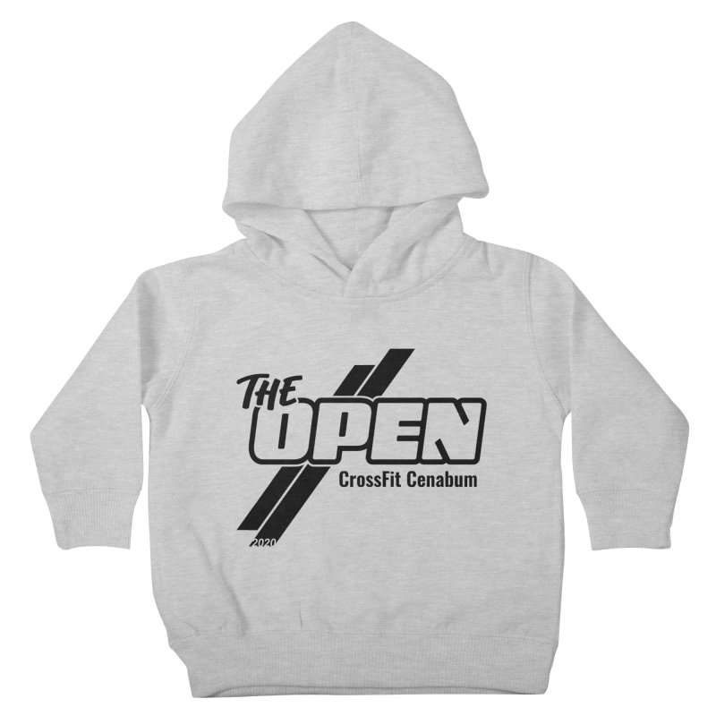 The Open 2020 Kids Toddler Pullover Hoody by Le Shop CrossFit Cenabum