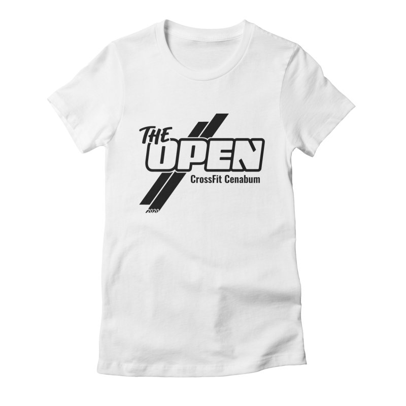 The Open 2020 Women's Fitted T-Shirt by Le Shop CrossFit Cenabum