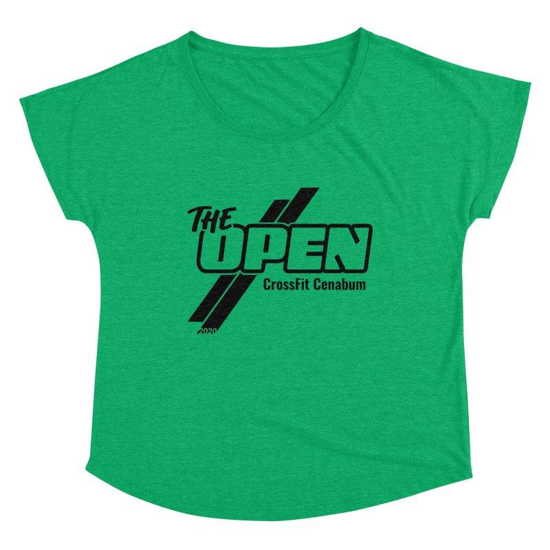 The Open 2020 Women's Scoop Neck by Le Shop CrossFit Cenabum