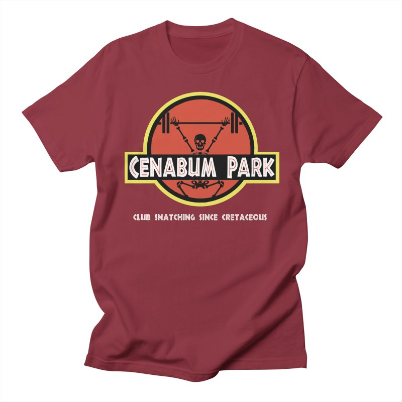 Cenabum Park Men's Regular T-Shirt by Le Shop CrossFit Cenabum