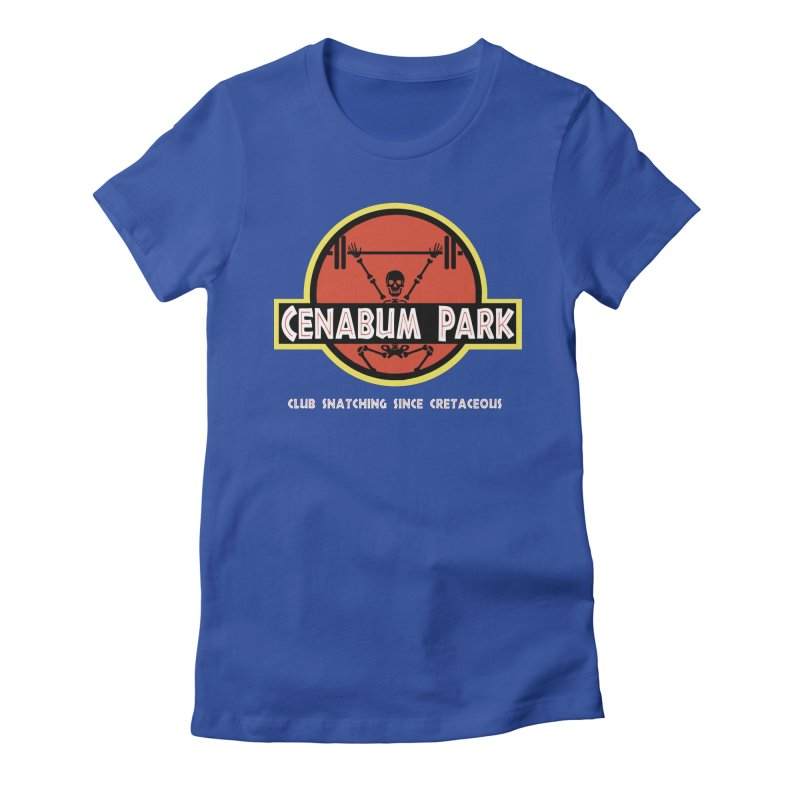 Cenabum Park Women's Fitted T-Shirt by Le Shop CrossFit Cenabum