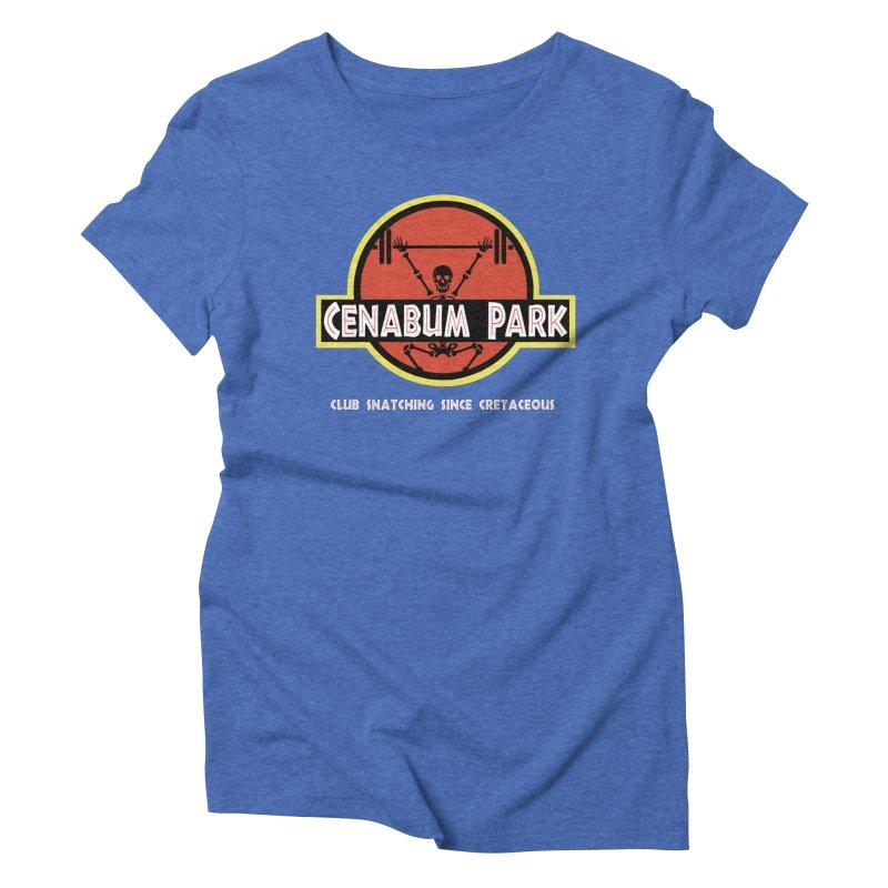 Cenabum Park Women's Triblend T-Shirt by Le Shop CrossFit Cenabum