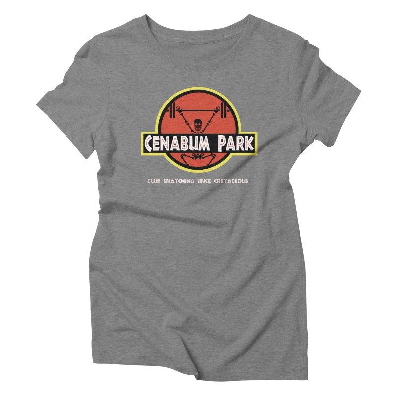 Cenabum Park Women's T-Shirt by Le Shop CrossFit Cenabum
