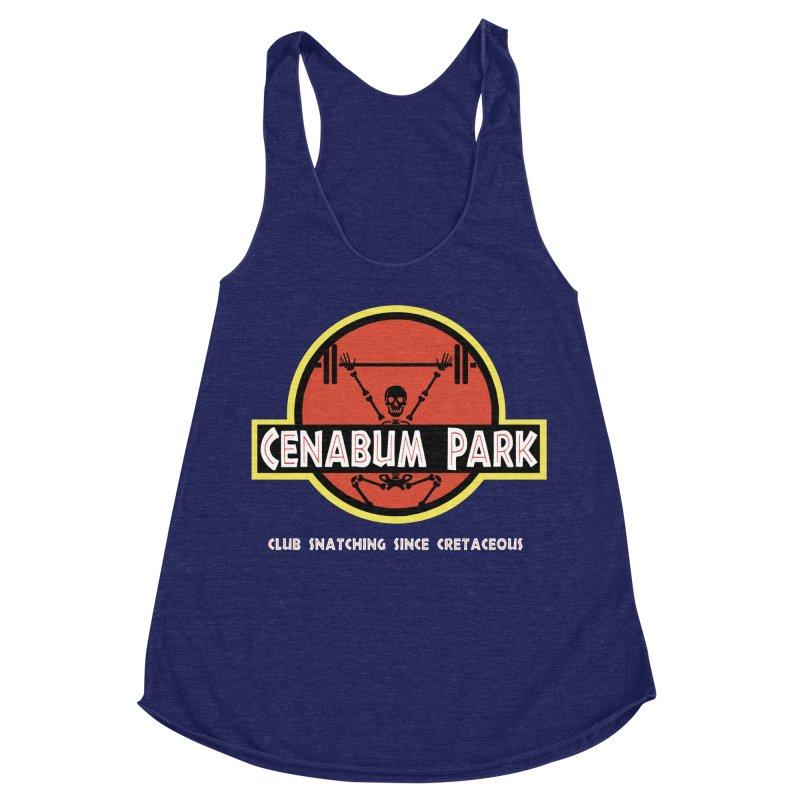 Cenabum Park Women's Racerback Triblend Tank by Le Shop CrossFit Cenabum