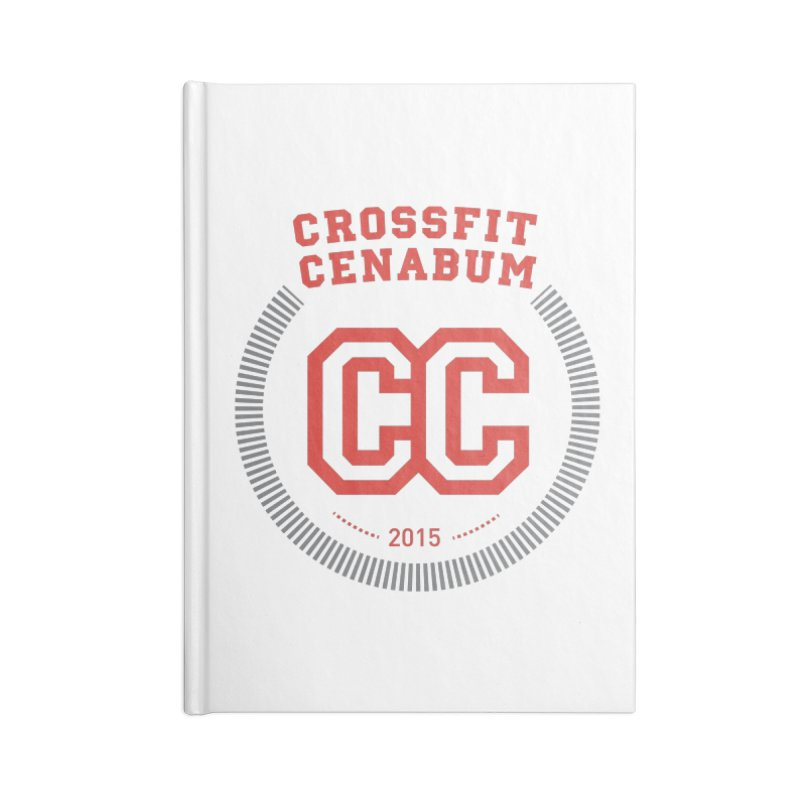 CrossFit Cenabum Classic Accessories Blank Journal Notebook by Le Shop CrossFit Cenabum