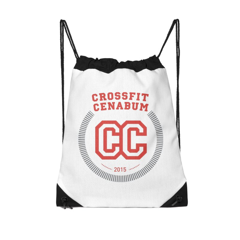 CrossFit Cenabum Classic Accessories Drawstring Bag Bag by Le Shop CrossFit Cenabum