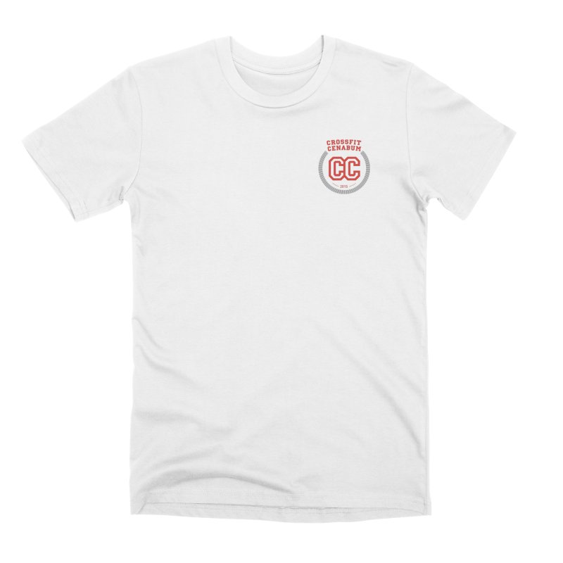 CrossFit Cenabum Classic in Men's Premium T-Shirt White by Le Shop CrossFit Cenabum