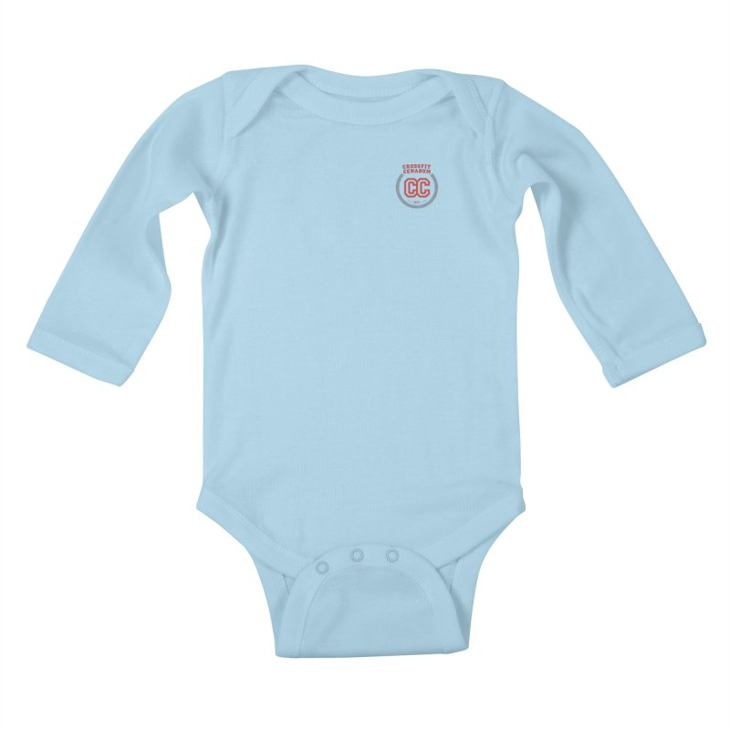 CrossFit Cenabum Classic Kids Baby Longsleeve Bodysuit by Le Shop CrossFit Cenabum