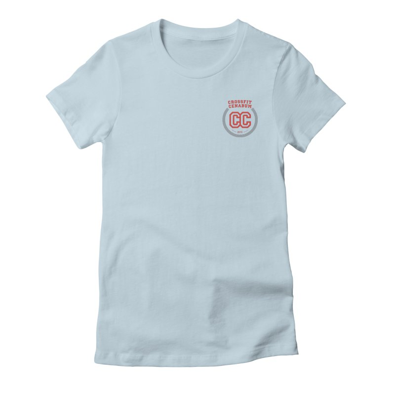 CrossFit Cenabum Classic Women's Fitted T-Shirt by Le Shop CrossFit Cenabum