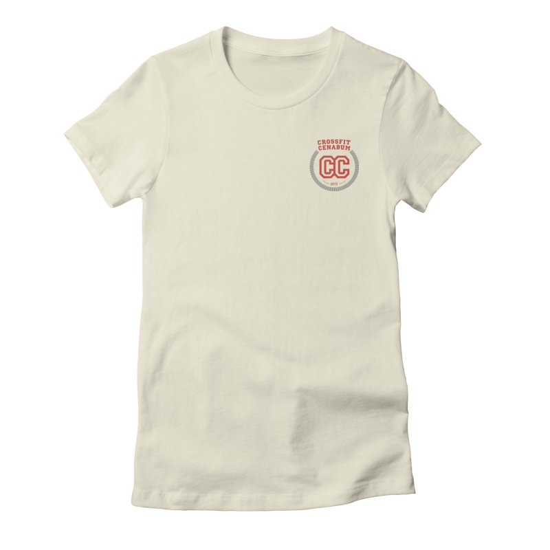 CrossFit Cenabum Classic Women's Fitted T-Shirt by Le Shop CrossFit Cenabum