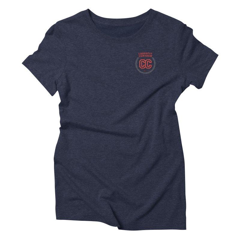 CrossFit Cenabum Classic Women's Triblend T-Shirt by Le Shop CrossFit Cenabum
