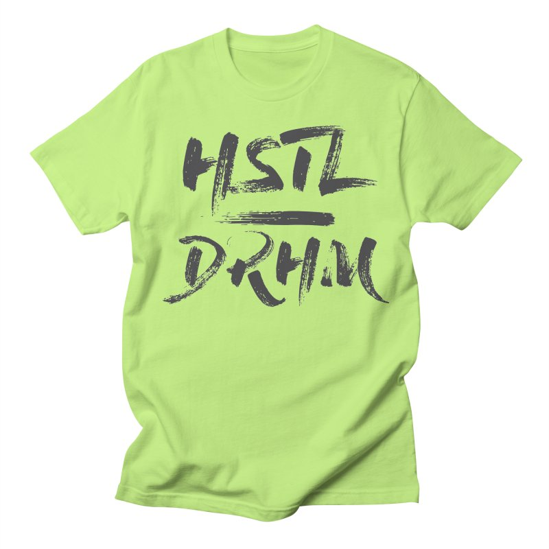 HUSTL DRHM (grey) Women's Regular Unisex T-Shirt by CrossFit Durham