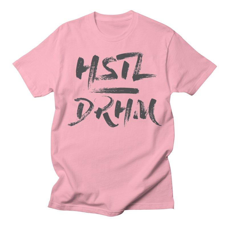 HUSTL DRHM (grey) Women's Regular Unisex T-Shirt by CrossFit Durham