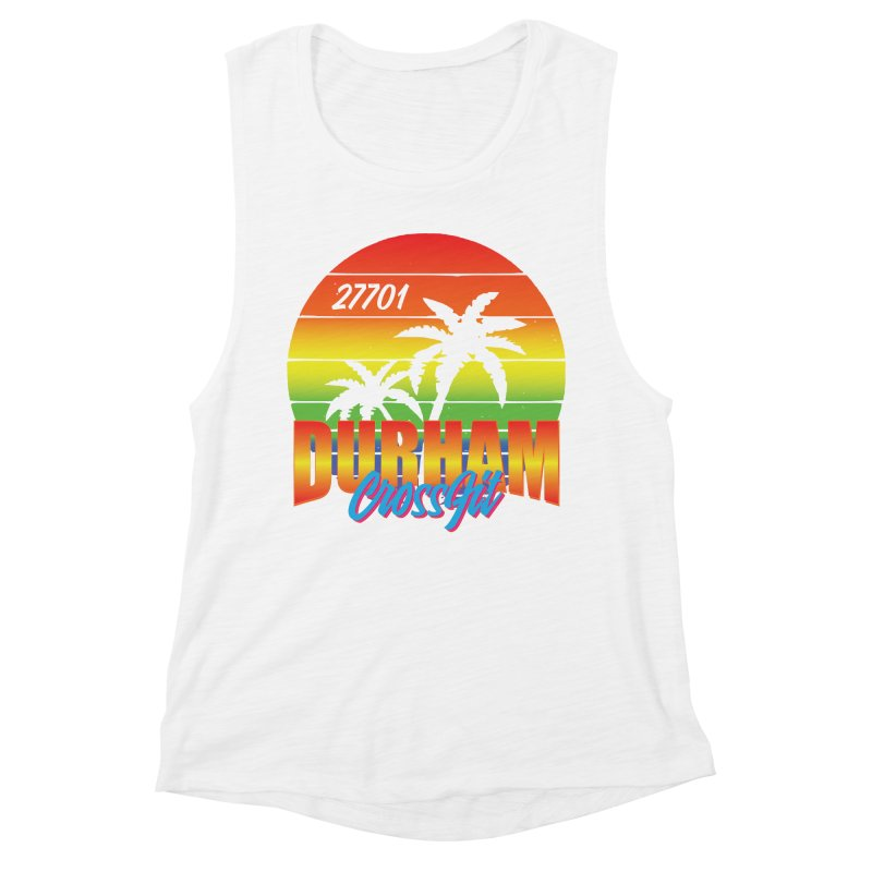 Durham Bright Women's Muscle Tank by CrossFit Durham