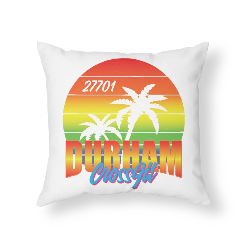 Durham Bright Home Throw Pillow by CrossFit Durham