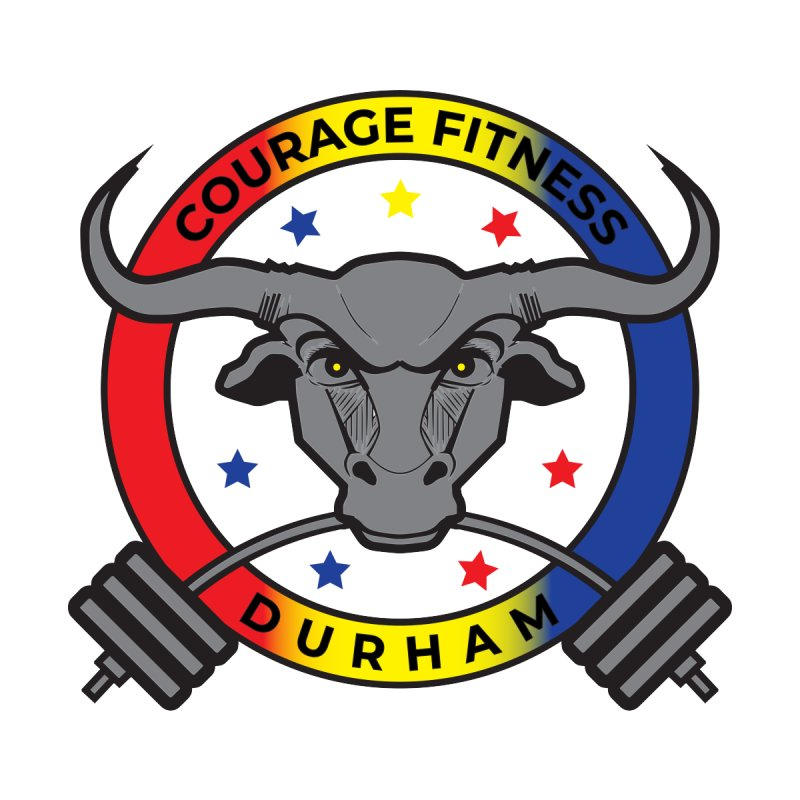 Courage Fitness Men's T-Shirt by Courage Fitness Durham
