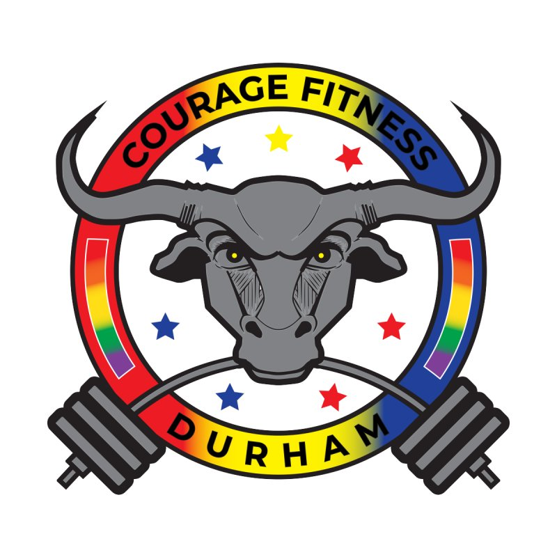 Courage Fitness Pride 2020 Men's T-Shirt by Courage Fitness Durham