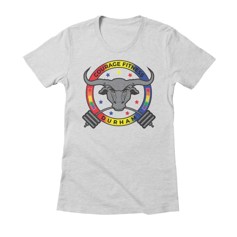 Courage Fitness Pride 2020 Women's T-Shirt by Courage Fitness Durham