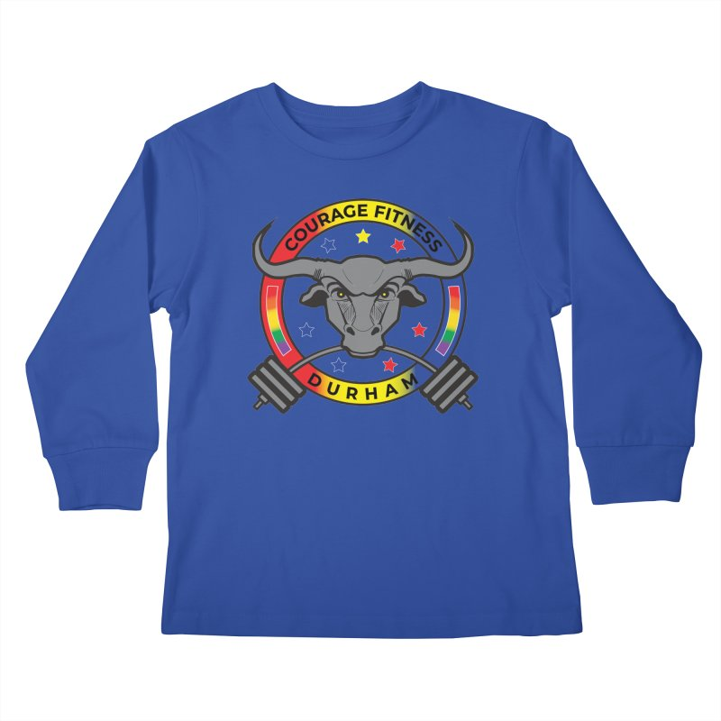 Courage Fitness Pride 2020 Kids Longsleeve T-Shirt by Courage Fitness Durham