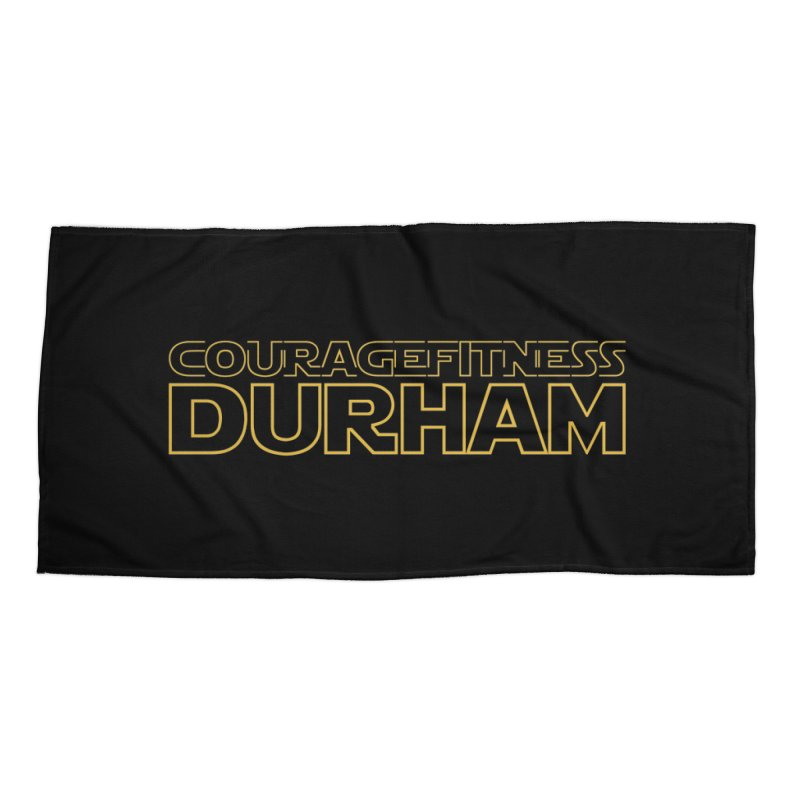 Star Wars Accessories Beach Towel by Courage Fitness Durham