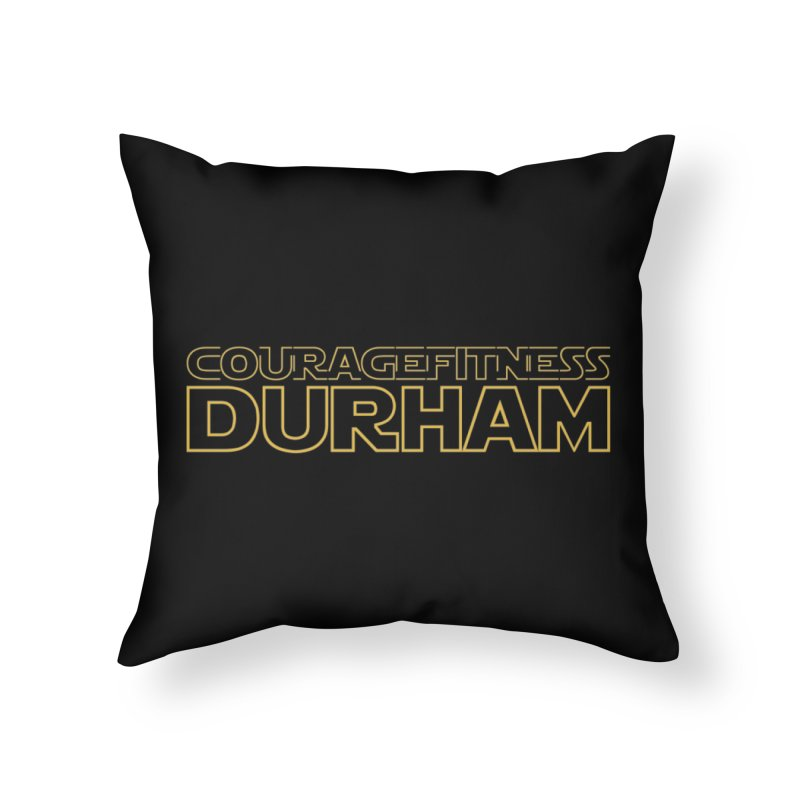 Star Wars Home Throw Pillow by Courage Fitness Durham