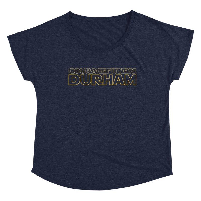 Star Wars Women's Scoop Neck by Courage Fitness Durham