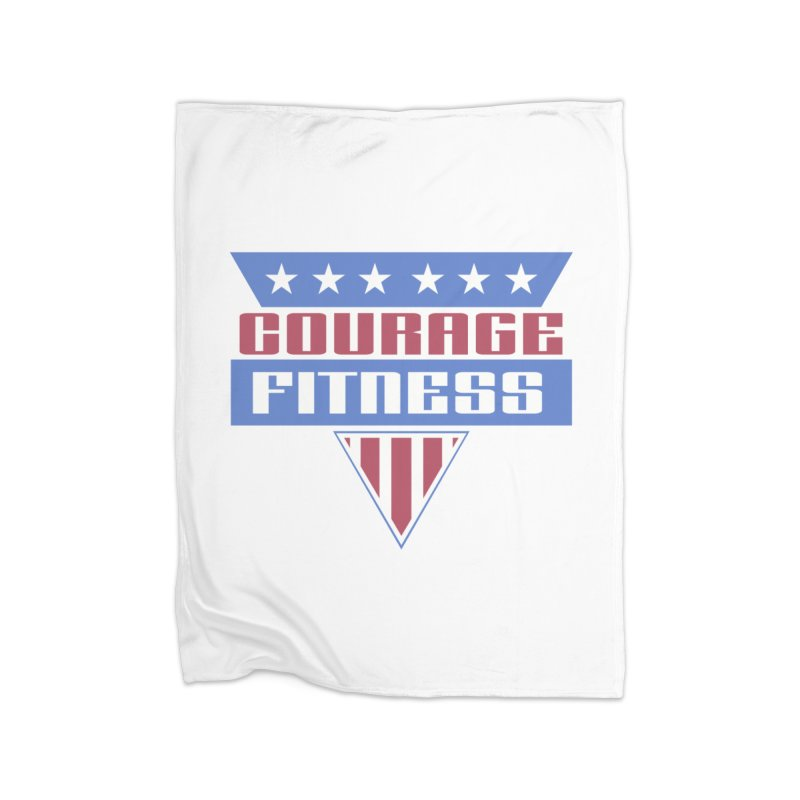 Gladiators Home Blanket by Courage Fitness Durham