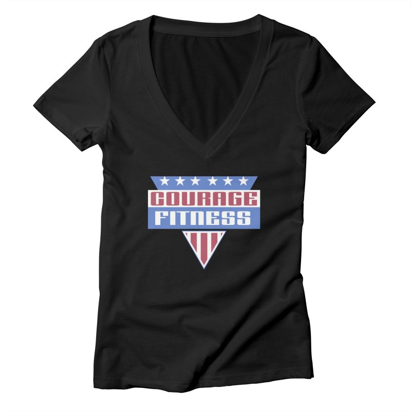 Gladiators Women's V-Neck by Courage Fitness Durham