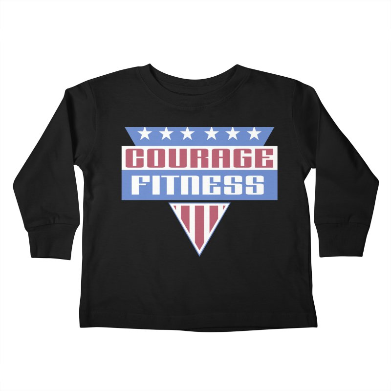 Gladiators Kids Toddler Longsleeve T-Shirt by Courage Fitness Durham