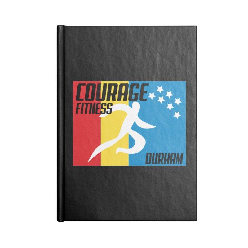 Durham Flag Accessories Notebook by Courage Fitness Durham
