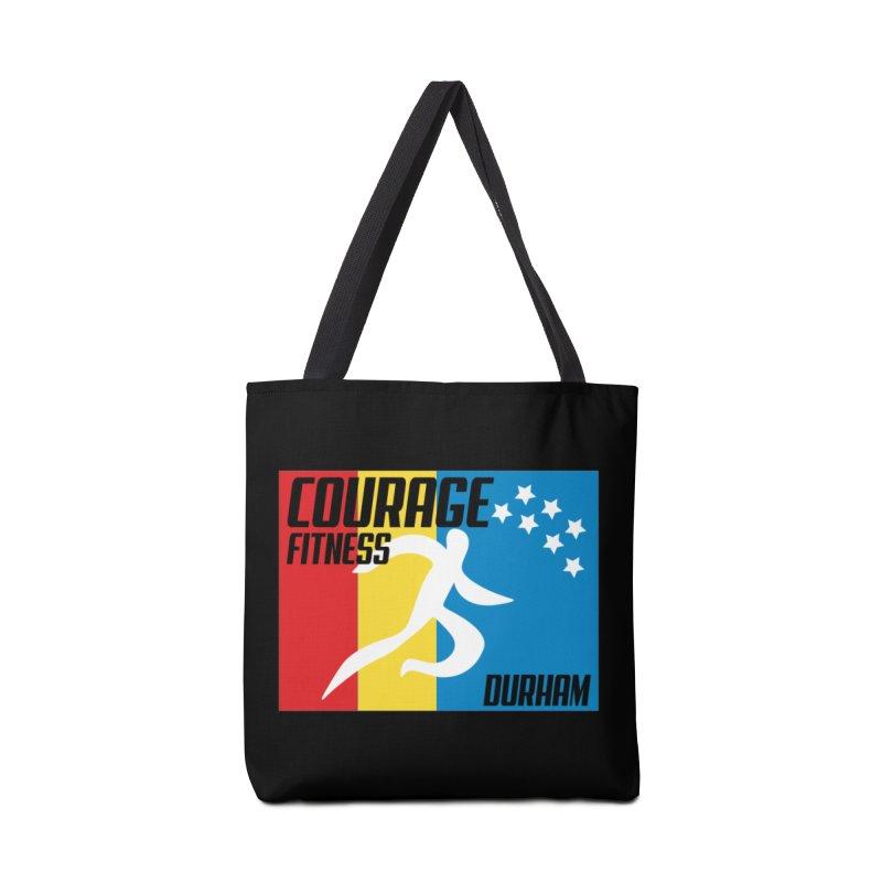 Durham Flag Accessories Bag by Courage Fitness Durham