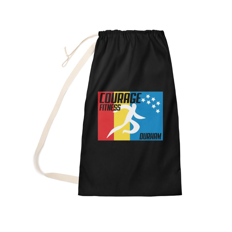 Durham Flag Accessories Bag by Courage Fitness Durham