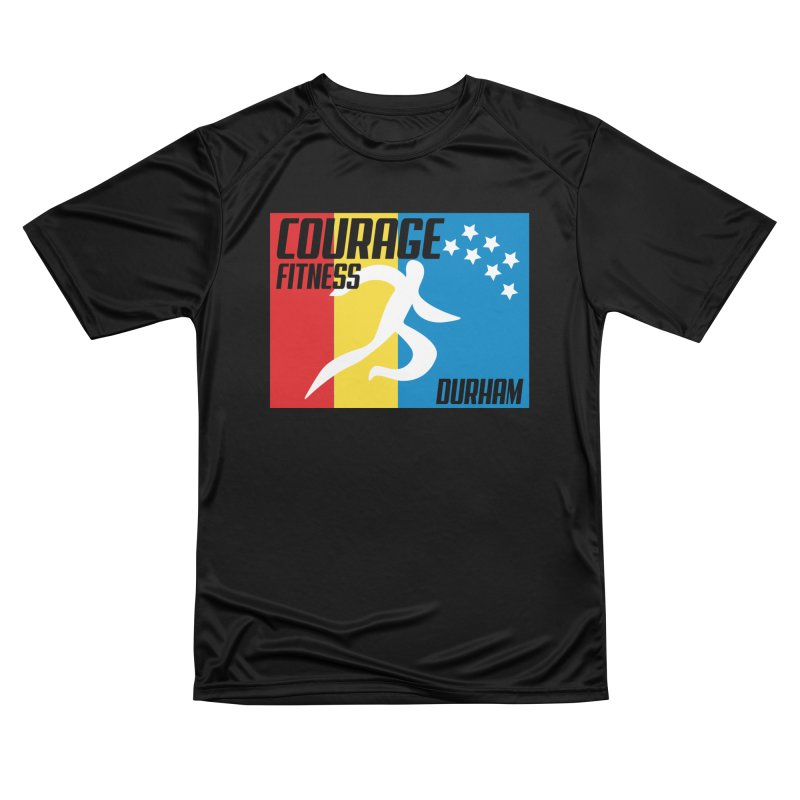 Durham Flag Women's T-Shirt by Courage Fitness Durham