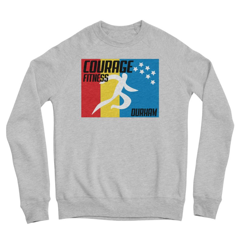 Durham Flag Men's Sweatshirt by Courage Fitness Durham