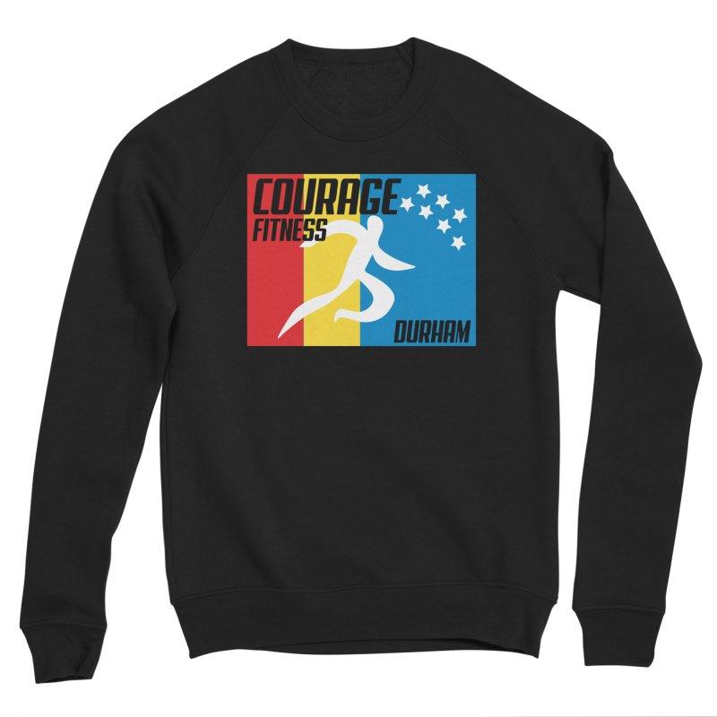 Durham Flag Women's Sweatshirt by Courage Fitness Durham